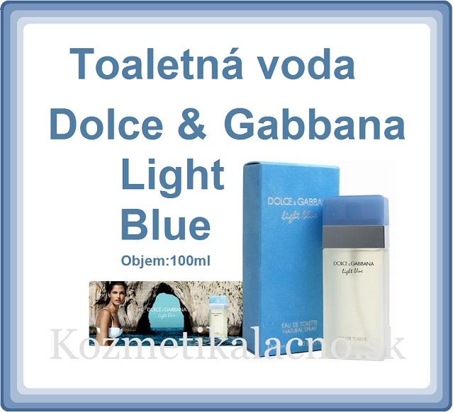 Toaletná voda Dolce & Gabbana Light Blue