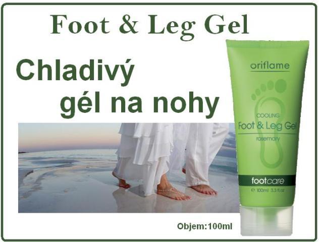 chladiv g l na nohy foot leg gel kozmetika lacno. Black Bedroom Furniture Sets. Home Design Ideas