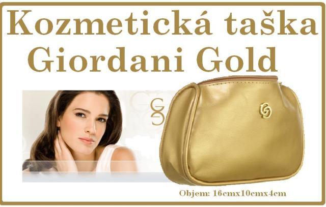 0d593fd6e2 Kozmetická taška Giordani Gold