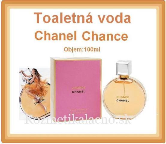 Toaletná voda Chanel Chance