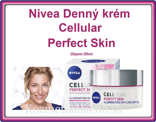 Nivea Denný krém Cellular Perfect Skin