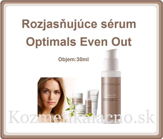 Rozjasňujúce sérum Optimals Even Out