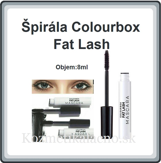 Špirála Colourbox Fat Lash
