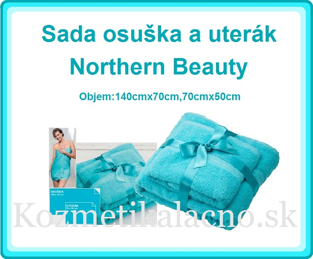 Sada osuška a uterák Northern Beauty