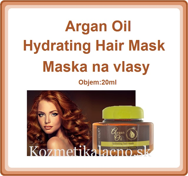 Argan Oil Hydrating Hair Mask Maska na vlasy (220ml)