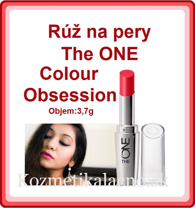 Rúž na pery The ONE Colour Obsession