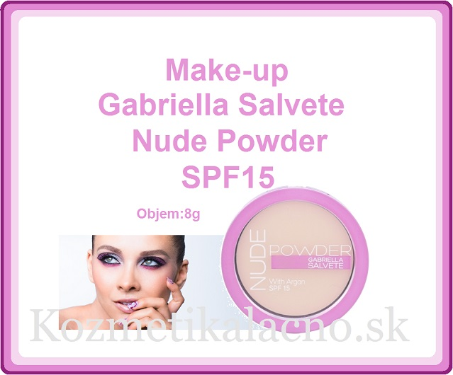 Gabriella Salvete Nude Powder SPF15 Make-up
