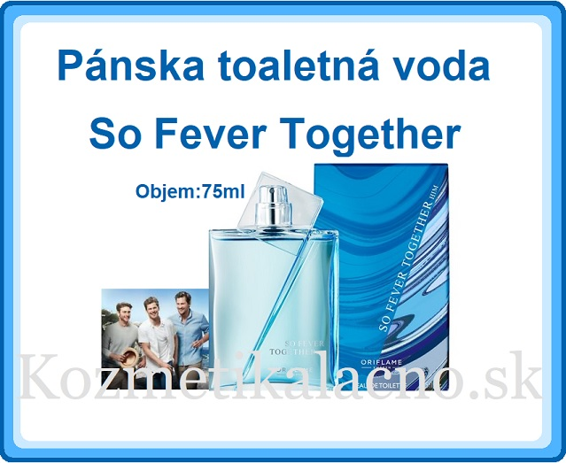 Pánska toaletná voda So Fever Together
