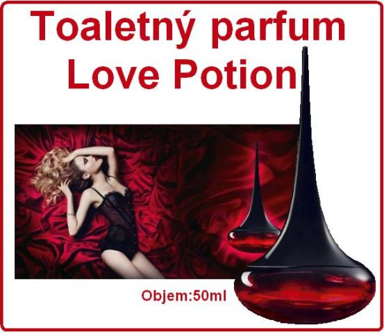 Toaletný parfum Love Potion