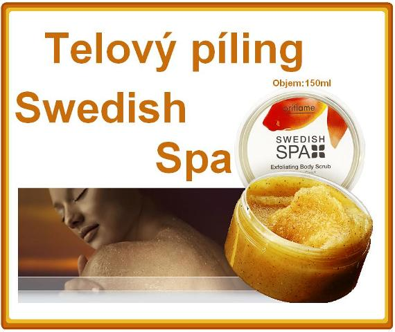 Telový píling Swedish Spa