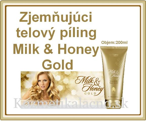 Telový píling Milk & Honey Gold