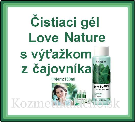 Čistiaci gél Love Nature
