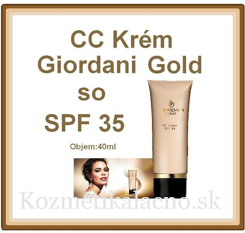 CC Krém Giordani Gold so SPF 35