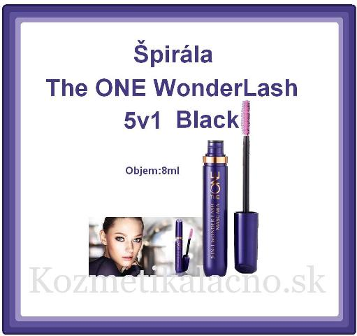 Špirála The ONE WonderLash 5v1 Black