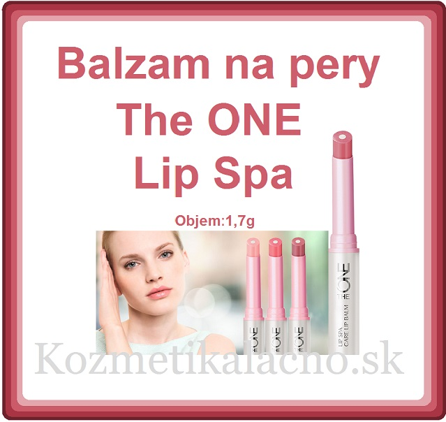 Balzam na pery The ONE Lip Spa