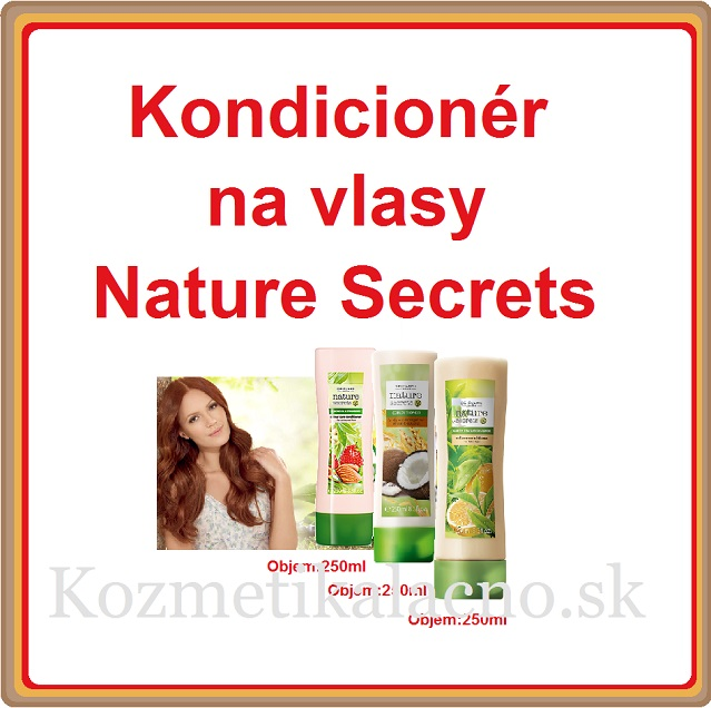 Kondicionér na vlasy  Nature Secrets