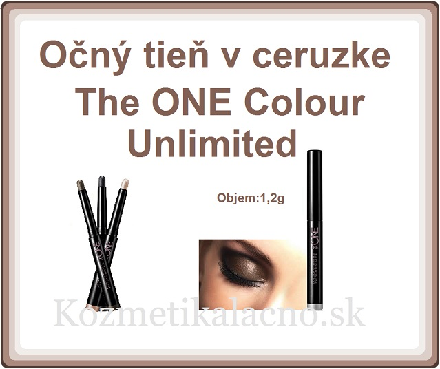Očný tieň v ceruzke The ONE Colour Unlimited
