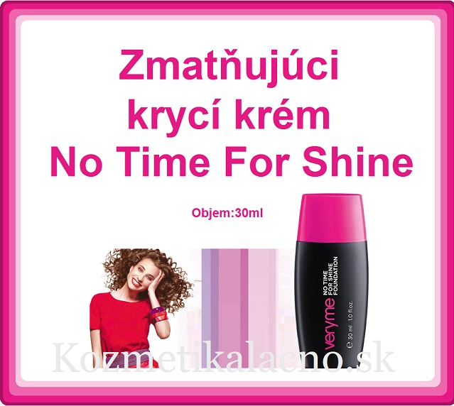 Zmatňujúci krycí krém No Time For Shine