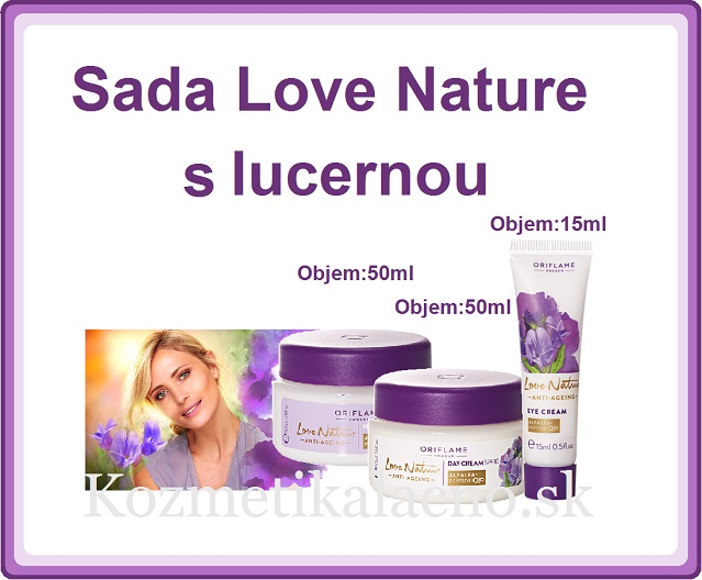 Love Nature s lucernou.